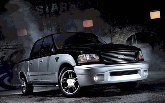 2001 ford f 150 harley davidson edition specs