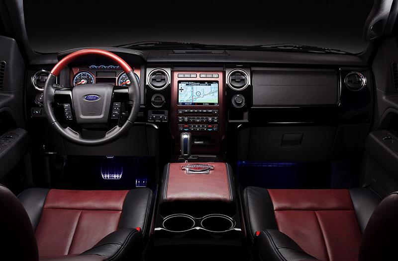 Ford Harley Edition Interior