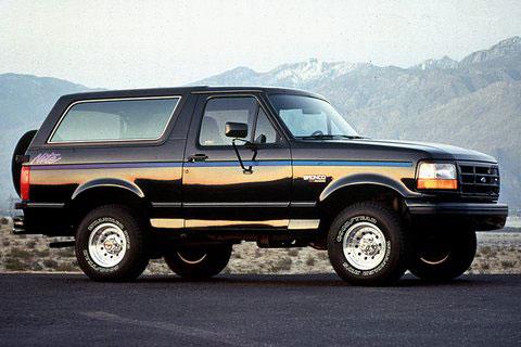 1991 1992 ford f 150 bronco nite edition